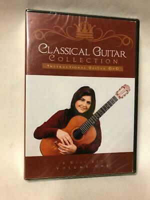 Learn Classical Guitar Collection Instructional Volume Lily Afsher 3 Disk Set