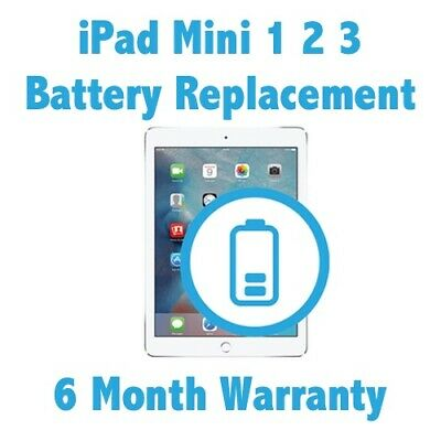 How to replace battery ipad mini 1