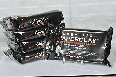 Quantity Discounts  ~  Creative Paper Clay, 8 ounce White ~ NEW ~ Free Ship.