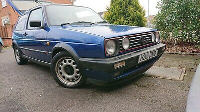 VW MK2 Golf GTI - 3 Door, Bright Blue Metallic - 119K - 1 of only 500 for the UK