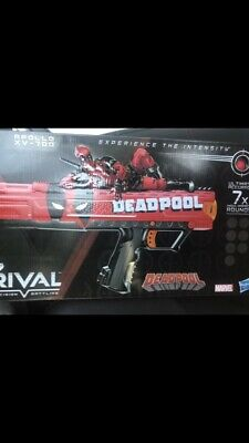 Nerf Rival Deadpool Apollo Blaster with 7 Round Magazine and 7 Rounds Brand New