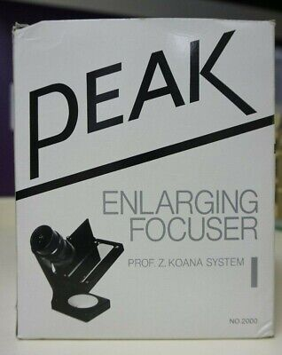 peak enlarger focus finder