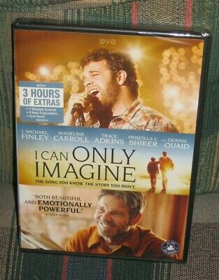 I Can Only Imagine (DVD, 2018) J Michael Finley, Trace Adkins, Dennis Quaid