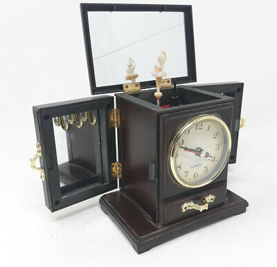 Vintage Clock With Music Box