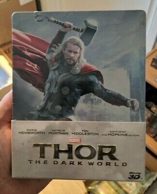 Thor The Dark World - Limited Edition Steelbook (Blu-ray 2D/3D) NEW!! MARVEL