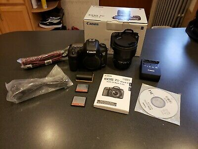 Canon EOS 7 D Mark II USED with Sigma 17-50mm lens