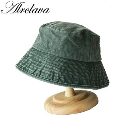 Winter Fisherman Hat Men And Women Outdoors Denim Wash Old Bucket Hats