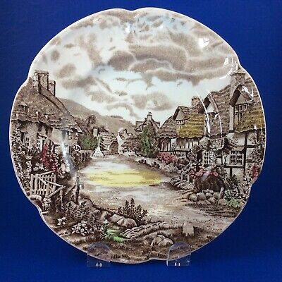 "Johnson Brothers Olde English Countryside 7"" Dessert Plates - Set Of 4"