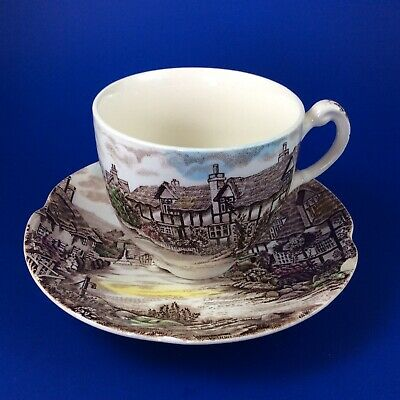 Johnson Brothers Olde English Countryside Tea Cup And Saucer