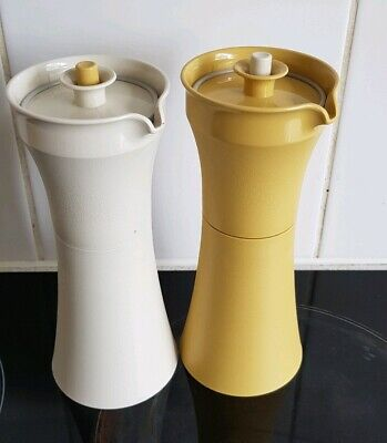 TUPPERWARE Set Of Vinegarette OIL SALAD Dressing POURERS