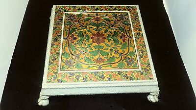 Antiques Beautiful Antique Enamel Stool 100% Guarantee