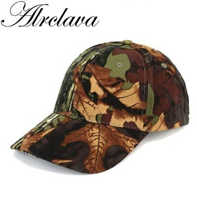 Hunting Cap Camouflage Outdoors Fishing Hat with 5 LED Lights  for Night Using
