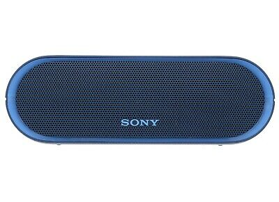 Sony SRS-XB20 Bluetooth Speaker Blue USED Excellent Condition☝