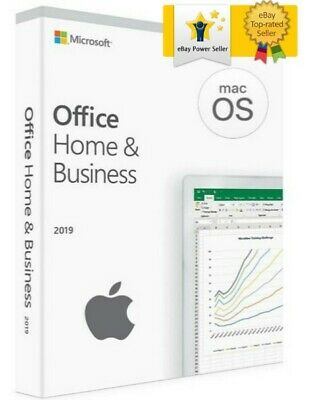Microsoft Office 2019 For Mac Home & Business (1 Mac)