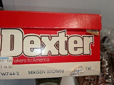 Vintage DEXTER Casual shoes Hard to find with Original paperwork