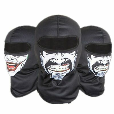 Halloween Balaclava Windproof dust-proof Full Face Neck Guard Masks Headgear