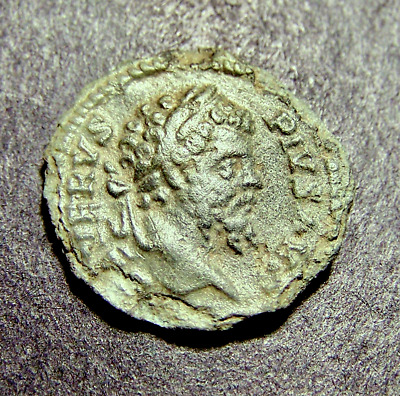 SEPTIMIUS SEVERUS, Victory Over Parthia in 202 AD, NIKE, Imperial Roman Coin