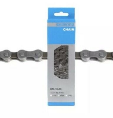 Shimano CN-HG40 6/7/8-Speed 116-Links Chain for 18/21/24-Speed MTB / Road Bike