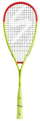 *NEW* Salming Grit PowerLite Squash Racquet - Yellow/Red - 2019 Model