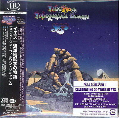 Yes-Tales From Topographic Oceans-Japan 2 Mini Lp Uhqcd I45