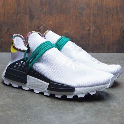 bd5472569 Adidas NMD Hu Pharrell Inspiration White Black Green Size 13. EE7583 yeezy  pk