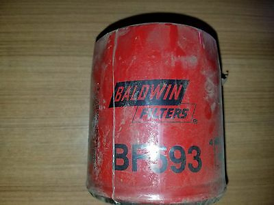 Baldwin BF593 Spin On Fuel Filter WIX 33122  Detroit Diesel 8.2 Liter 81-92