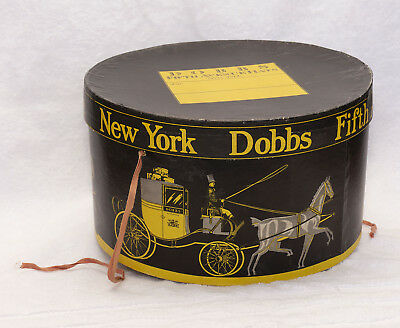 Dobbs Fifth Avenue New York - Hat Box Only - Vintage NICE !