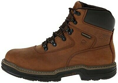 34daf233f8b NEW MENS WOLVERINE Marauder Well Brown Boots W02165 Waterproof Size ...