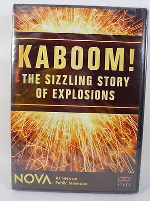 NEW Kaboom - The Sizzling Story of Explosions (DVD, 2007, 2-Disc Set) PBS NOVA