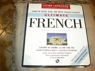 Ultimate French Learn at Home Course, Book & CDs - as new