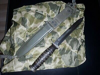 Us M3 Trench Knife By Utica With M8 Scabbard