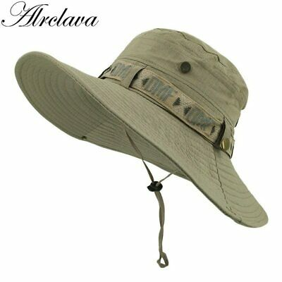 Outdoor Men Bucket Hat Casquette Gvroche Summer Fisherman Cap Fishing visor UV