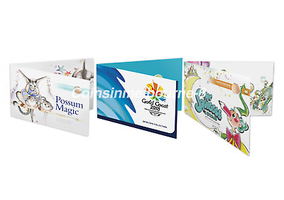 Possum Magic 2017 + Commonwealth Games 2018 + Mr Squiggle 2019 Coin Sets AUS