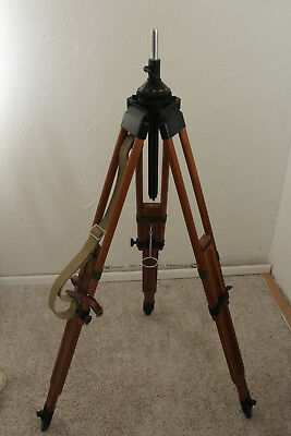 Wood Antique Telescope Stand. Great Condition; Rustic Look.