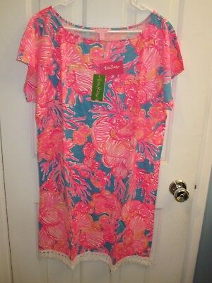 6c46004f75e87c Lilly Pulitzer Tilla Dress in Sparkling Blue Fantastic - Size M - NWT