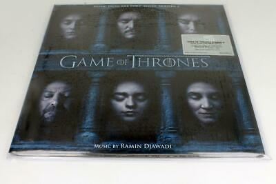 GAME OF THRONES SEASON 6 | O.S.T. | NEW Numbered Etched 3 LP RED 180 gram Vinyl