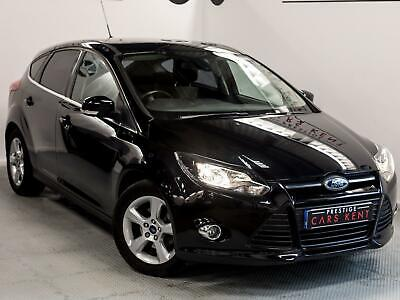 2014 Ford Focus 1.6 Zetec Navigator 5dr Petrol black Manual