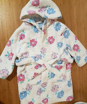 Baby Girl Dressing Gown 9-12 Months Old John Lewis VGC