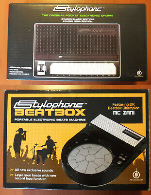 Stylophone Electronic Organ Limited Edition + Beatbox portable drum machine