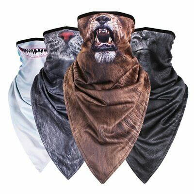 Triangle Scarf Animal Mask Hood Mask Wind Sand Breathable Motorcycle Biker