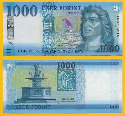 Hungary 1000 Forint p-new 2018 UNC Banknote
