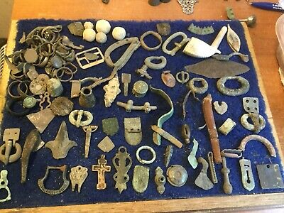 Large Lot Of Detecting Found Artefacts 22