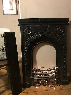 cast iron bedroom fireplace