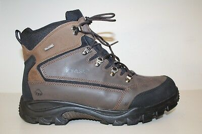 673734595ee8 Wolverine Mens Boots Sz 13 M   46 Spencer Brown Leather Waterproof Hiking  Ankle