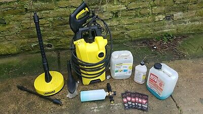 Karcher K4 Compact Pressure Washer+extras