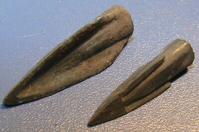 Scythian Vikings arrowhead 7 - 2 nd century BC bronze. RARE. ORIGINAL