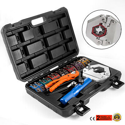 71500 Hydraulic Hose Crimper Tool Kit Crimper Snap Crimping Set Hydra Krimp