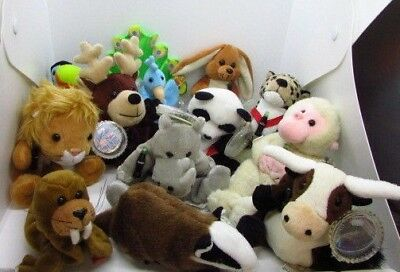 Lot of 13 International Beanie Babies Coca Cola Plush W Tags Stuffed Animals fa08d3167437