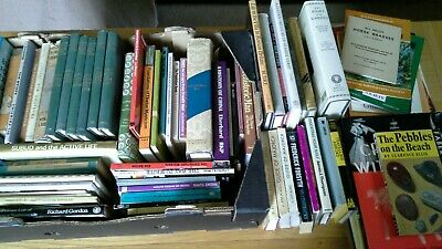 Job lot of old books