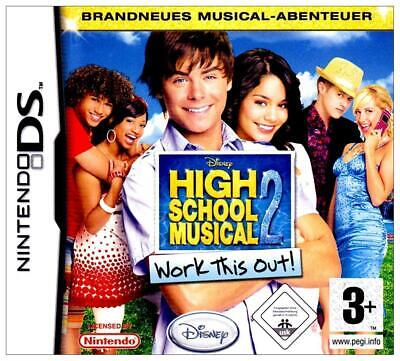 High School Musical 2 - Work this out! (in OVP) | Nintendo DS